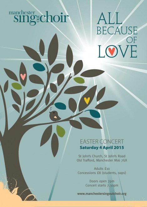 All Because of Love - Easter Concert 2015